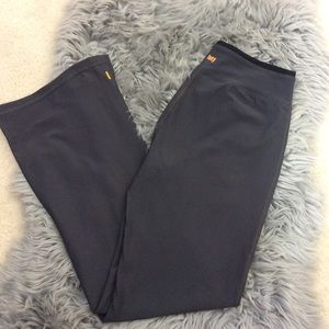 LUCY Gray Athletic Yoga Pants Size Small